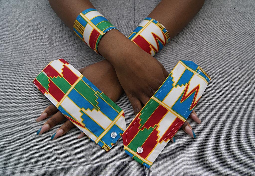 Création d'accessoires en Wax Côte d'Ivoire 100% Coton
