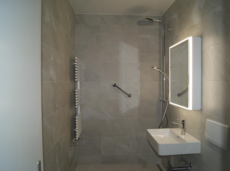 Rénovation d'une salle de douche